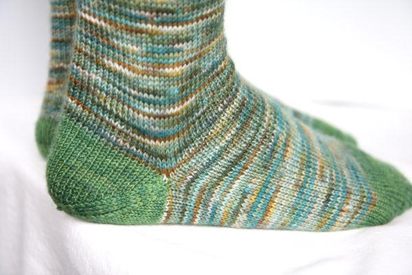 Knitting Patterns Heel Less Socks : socks/footwear Italian Dish Knits
