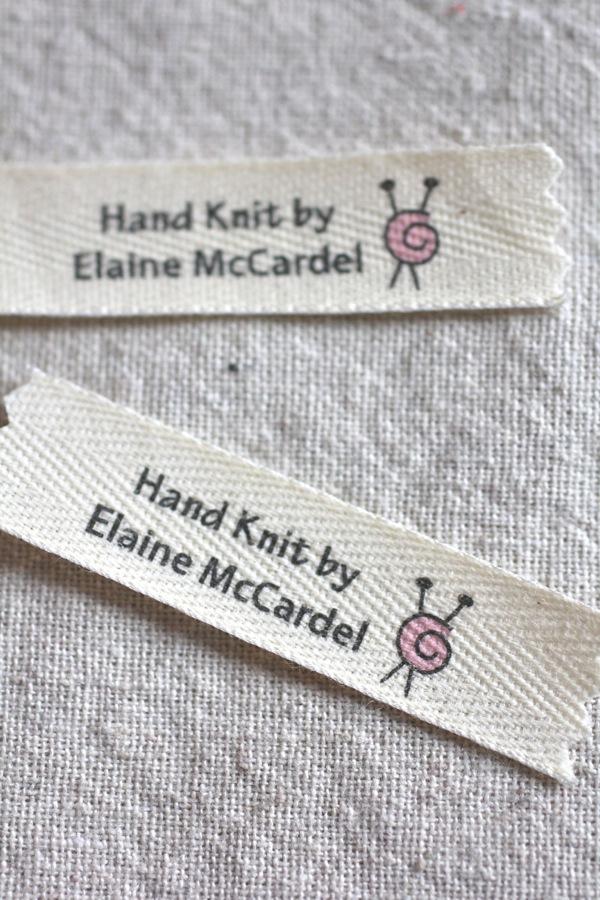 Knitting Labels Handmade : My christmas knitting is finished italian dish knits