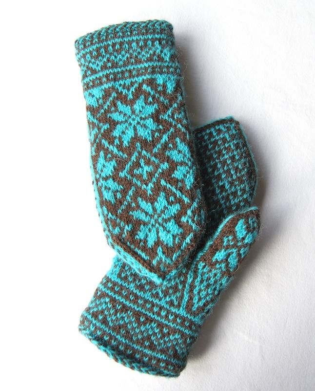 Lined Mittens Knitting Pattern : mittens Italian Dish Knits