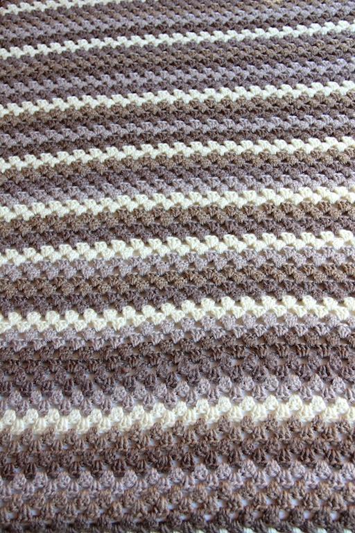 Granny Stripes Blanket Italian Dish Knits
