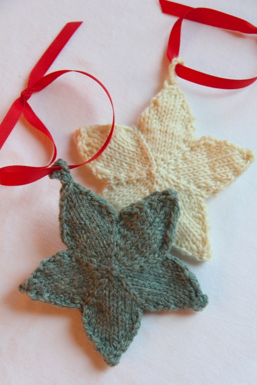Star Knitting Pattern Free : Knit Stars Italian Dish Knits
