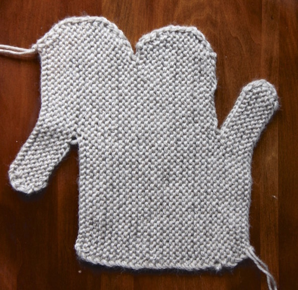 Flat Knitting Patterns : mittens Italian Dish Knits