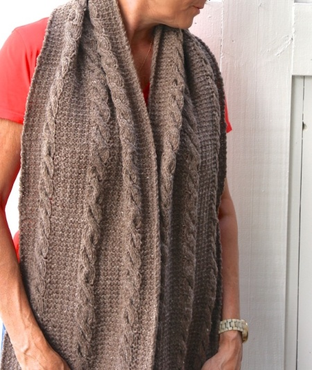 kirkwood scarf around neck
