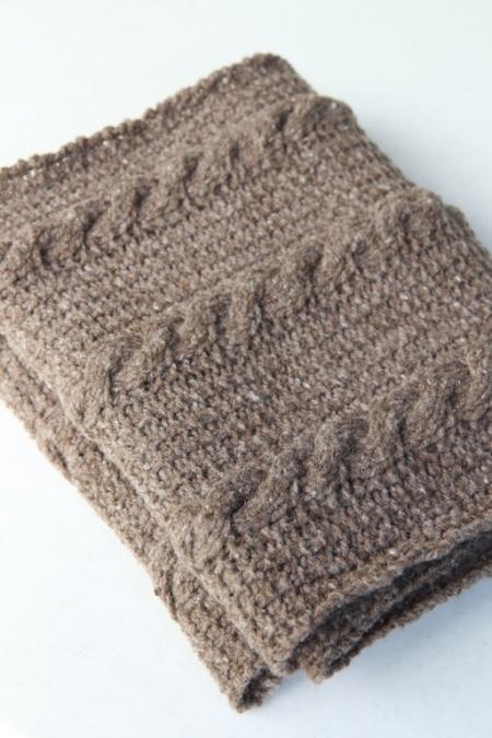kirkwood scarf folded