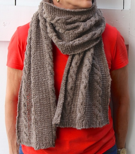 kirkwood scarf wrapped
