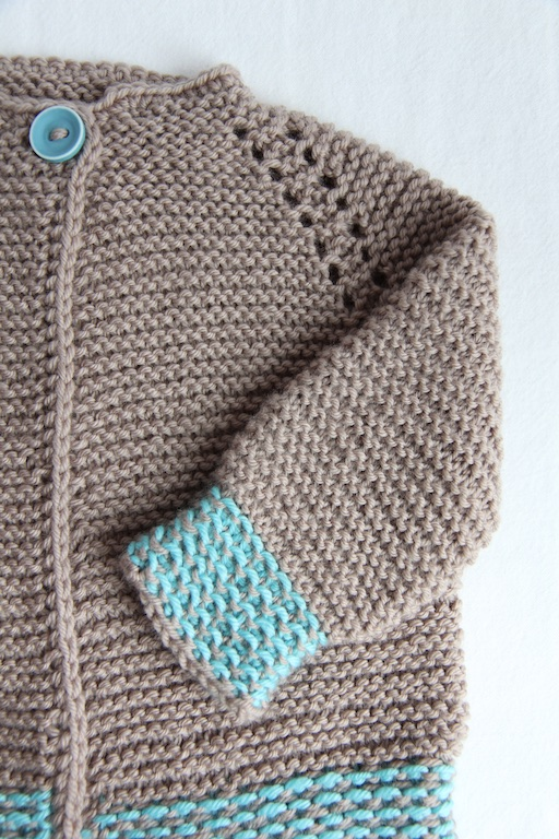 3734f34c9417 Garter Stitch Baby Sweater