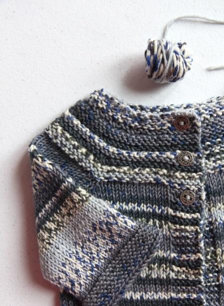 Lilla Koftan leftover yarn