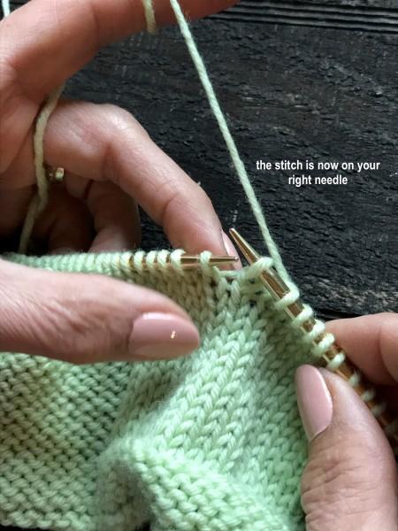 Dropped Knit Stitch 6