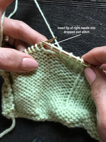 singles in purling Single rib is a stretchy piece of knitting often used for cuffs and hems to make single rib you will knit one stitch, then purl the next stitch, and repeat to the end of the row.