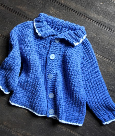 Fisherman's Baby Sweater